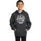 Youth Black Evolution Pullover Hoody