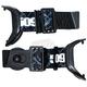 Short Straps for Sinister X5 Goggles - 509-SSTR-X5-BK