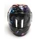 Purple Airmada Space Bass Face Helmet