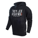 Black Step Up Pullover Hoody