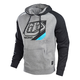 Gunmetal/Charcoal Heather Precision Pullover Hoody