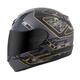 Black/Gold EXO-R410 Convoy Helmet