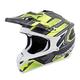 Silver/Neon VX-35 Finnex Helmet