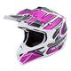 Black/Pink VX-35 Finnex Helmet