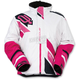 Women's White/Pink Comp Insulated Jacket