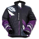Women's Black/Purple Comp Insulated Jacket