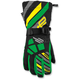 Youth Black/Green Ravine Gloves