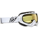 Youth White/Black Comp 2 Goggles - 2601-2103