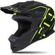 Matte Black/Lime Altitude Helmet