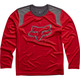 Youth Flame Red Formoso Long Sleeve Shirt