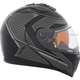 Gray/Black Tranz 1.5 RSV Direction Modular Helmet w/Electric Shield