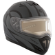 Matte Gray/Black Tranz RSV Chronos Modular Snow Helmet w/Electric Shield