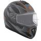 Matte Black/Charcoal Tranz RSV Tribe Modular Snow Helmet w/Electric Shield