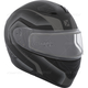 Matte Black/Charcoal Flex RSV Lucas Snow Modular Helmet