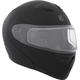 Matte Black Flex RSV Snow Modular Helmet