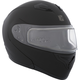 Matte Black Flex RSV Snow Modular Helmet w/Electric Shield