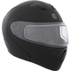Black Flex RSV Snow Modular Helmet w/Electric Shield