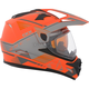 Matte Orange/Gray Quest RSV Ridge Adventure Helmet