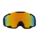 Matte Black/Revo Red Ghost Dual Lens Snow Goggle - GOG YH90/BK M/DL RR