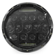 Black 7 in. Beast LED Headlight - ABIG7-B6K