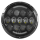 Black 7 in. Urban LED Headlight - ABIG7-A6K