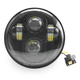 Black Integrated LED 5.75 in. Headlight - ABIG5-A6K