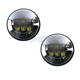 Black 4.5 in. LED Passing Lamps - ABIG4.5-A6K