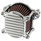 Chrome Finned Air Cleaner - 02-166-3