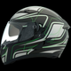 Black/Green Strike OP SV Helmet