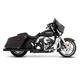 Black Slimline 3.5 in. True Duals w/Black End Caps - 100-0403
