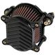 Black V-Fin Omega Air Cleaner - 02-169-1