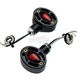 Black Omega LED Center Mount Turn Signals - 05-250-RB