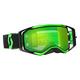 Black/Fluorescent Green Prospect Goggles w/Green Chrome Lens - 246428-5401279