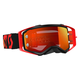 Black/Fluorescent Red Prospect Goggles w/Orange Chrome Lens - 246428-5404280