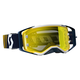 Blue/White Prospect Goggles w/Yellow Chrome Lens - 246428-1006289
