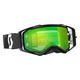 Black Prospect Goggles w/Green Chrome Lens - 246428-0001279