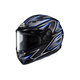 Black/Gray/Blue CS-R3 Spike MC-2 Snow Helmet w/Framed Dual Lens Shield