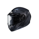 Flat Black/Gray CS-R3 Treague MC-5F Snow Helmet w/Framed Dual Lens Shield