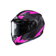 Flat Black/Gray/Pink CS-R3 Treague MC-8F Snow Helmet w/Framed Dual Lens Shield