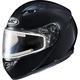 Black CS-R3 Snow Helmet w/Framed Electric Shield