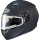 Matte Black CS-R3 Snow Helmet w/Framed Electric Shield