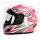 Pink Full Face Helmet