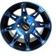 Front Blue/Black 387X 12x7 Wheel - 0230-0803