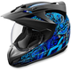 Blue Variant Cottonmouth Helmet