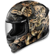 Gold Airframe Pro Cottonmouth Helmet