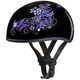 Butterfly Skull Cap Half Helmet
