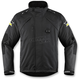Black Raiden DKR Monochromatic Waterproof Jacket