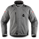 Gray Raiden DKR Monochromatic Waterproof Jacket