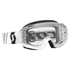 White/Black Hustle MX Goggles w/Clear Lens - 246430-1035113