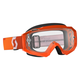 Orange Hustle MX Goggles w/Clear Lens - 246430-0036113